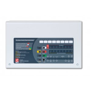 CTEC CFP Alarmsense Conventional 2 zone panel  Two Wire