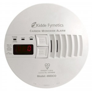 Kidde Mains Carbon Monoxide Alarm with Digital Display