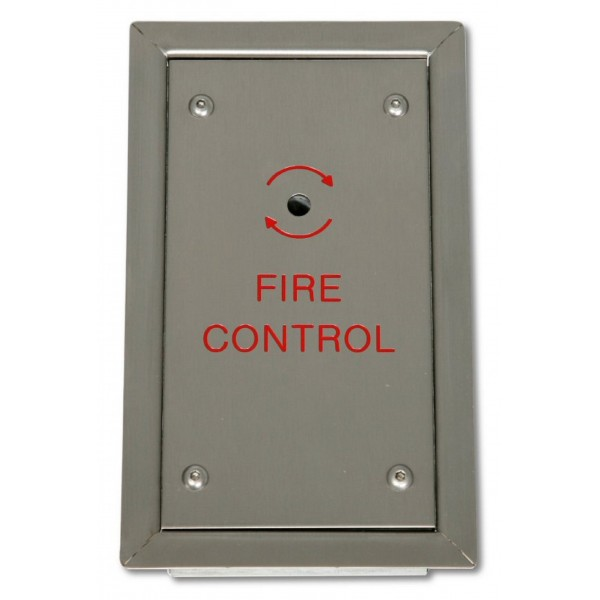 Fireman Switch Flush Mounted