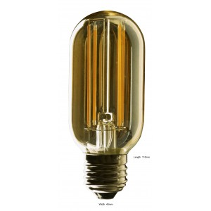 Vintage LED Tubular Lamp