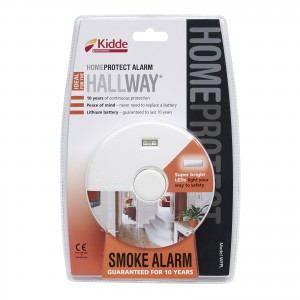 Kidde Home Protect Smoke Alarm with LED Light