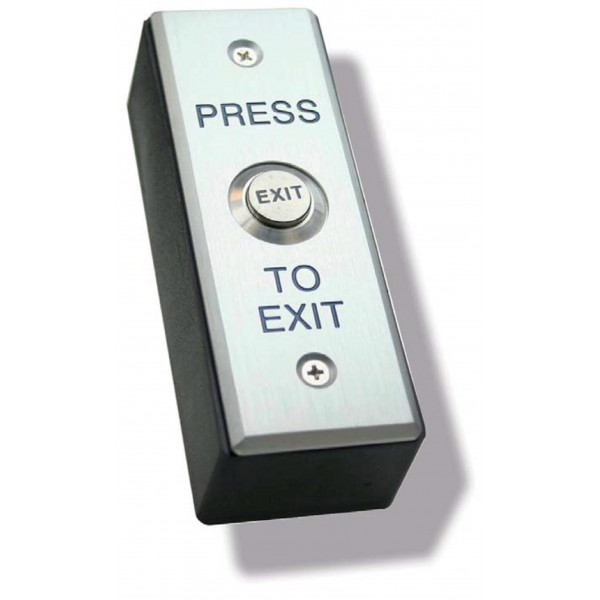 Wireless Stainless Steel Press to Exit Button