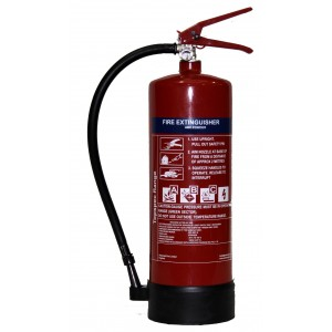 Topspec 1Kg ABC Dry Powder Fire Extinguisher