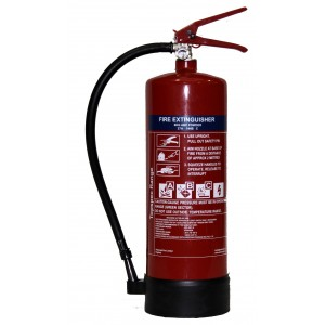 Topspec 6Kg ABC Dry Powder Fire Extinguisher