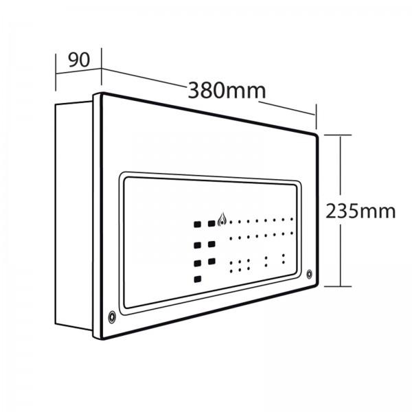 cfp alarmsense conventional 8 zone panel  u0026 39 savwire u0026 39