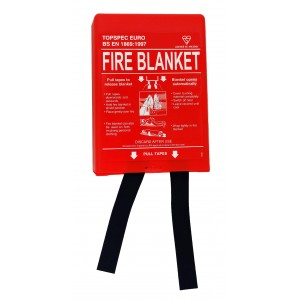 Topspec Fire Blanket 1m x 1m